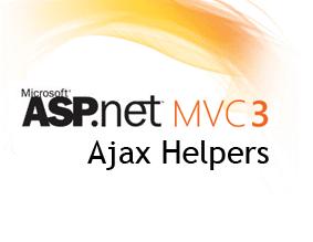 ASP.NET MVC 3 Ajax Helper Kullanımı