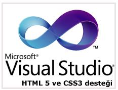 Visual Studio 2010'da HTML5 ve CSS3 desteği