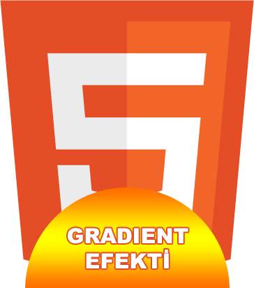 HTML5 Canvas Gradient Efekti