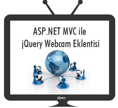 ASP.NET MVC ile jQuery Webcam Eklentisi
