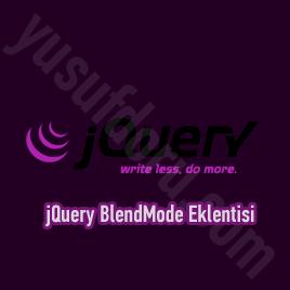 jQuery BlendMode eklentisi