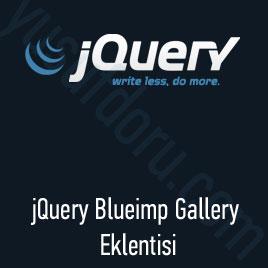 jQuery Blueimp Gallery Eklentisi