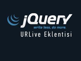 jQuery URLive Eklentisi